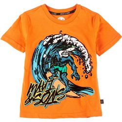 Hollywood Little Boys Wave Shredder Tee