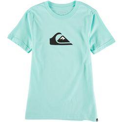 Quiksilver Big Boys Logo Screen Print T-Shirt