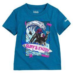Hurley Little Boys Surf & Enjoy T-shirt