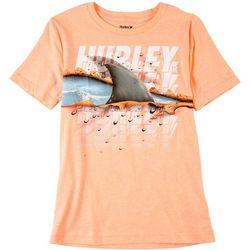 Hurley Big Boys Ripping Through T-Shirt