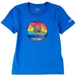 Big Boys Shark Island T-Shirt