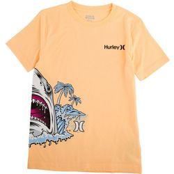 Hurley Big Boys Shark Beach T-Shirt