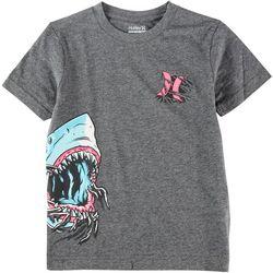 Hurley Little Boys Shredder Graphic T-Shirt