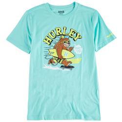 Big Boys Surfing Bear T-Shirt