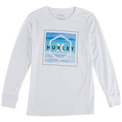 Hurley Big Boys Shine On Long Sleeve T-Shirt