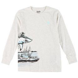 Big Boys Long Sleeve Mega Wrap T-shirt