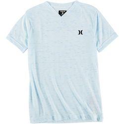 Hurley Big Boys Cloud Slub V-Neck T-Shirt