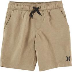 Big Boys Solid Pull On Shorts