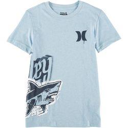 Hurley Big Boys Shark Blitz T-Shirt