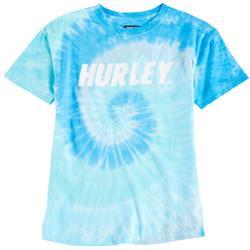 Big Boys Logo Tie Dye Swirl T-Shirt