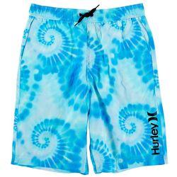 Hurley Big Boys Tie Dye Swirl Boardshorts