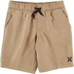 Hurley Little Boys Solid Pull On Shorts