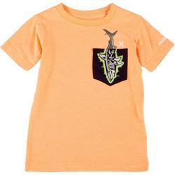 Little Boys X-Ray Pocket T-Shirt