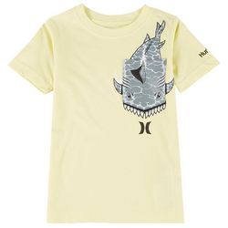 Hurley Little Boys Shark Graphic T-Shirt