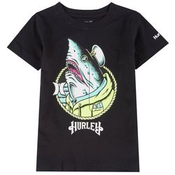 Hurley Little Boys Captain Shark Graphic T-Shirt