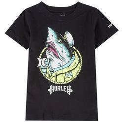 Little Boys Captain Shark Graphic T-Shirt