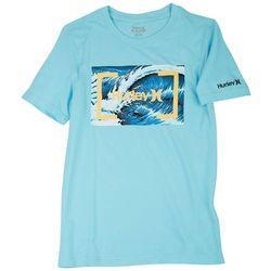 Hurley Big Boys Barrel Wave T-Shirt