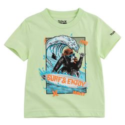 Hurley Big Boys Surfing Chimp T-Shirt