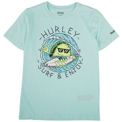 Hurley Big Boys Surf & Enjoy Taco T-Shirt