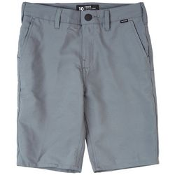 Hurley Big Boys Dri-Fit Solid Chino Shorts