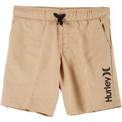 Little Boys Stretch Pull On Shorts
