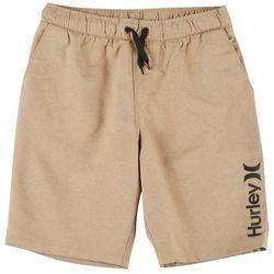 Hurley Big Boys Stretch Pull On Shorts