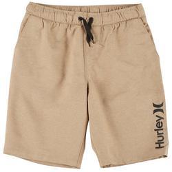 Big Boys Stretch Pull On Shorts