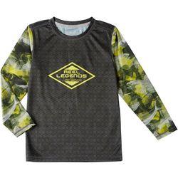 Reel Legends Little Boys Reel-Tec Florida Favorita T-Shirt