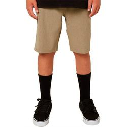 Big Boys Reserve Heather Hybrid Shorts