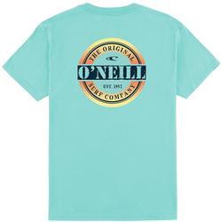 Big Boys Pop Circle Logo T-Shirt
