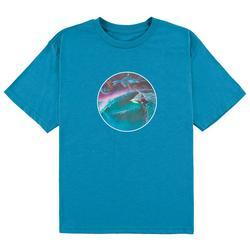 Big Boys Galaxy Circle T-Shirt
