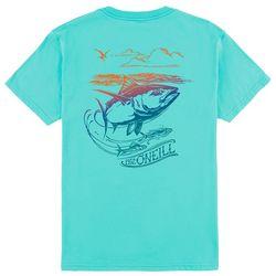 O'Neill Big Boys Fish Logo Graphic Print T-Shirt