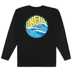 O'Neill Big Boys Wave Logo Long Sleeve T-Shirt