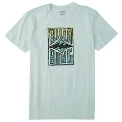 Billabongs Big Boys Doodle Logo Short Sleeve T-Shirt