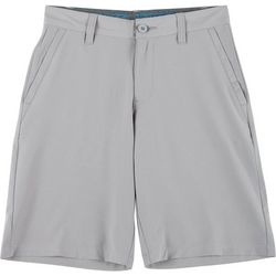 Reel Legends Big Boys Solid Hybrid Shorts