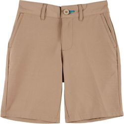 Reel Legends Little Boys Solid Hybrid Shorts