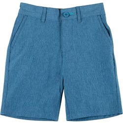 Little Boys Heather Hybrid Shorts