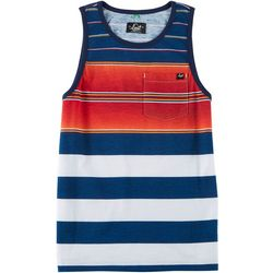 Lost Big Boys Striped Tank Top