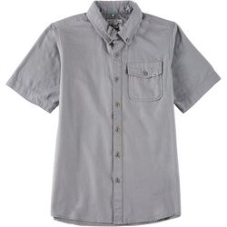 Lost Big Boys Button Down Super Solid Shirt