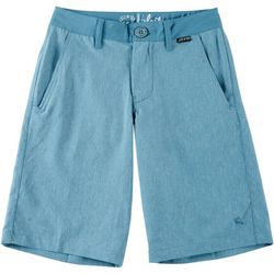 Lost Big Boys Heather High Styling Shorts