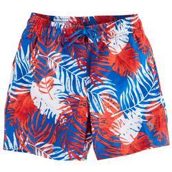 Little Boys Americana Palms Swim Shorts
