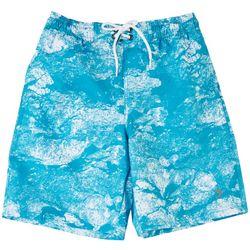 Reel Legends Big Boys Morning Frost Swim Shorts
