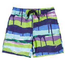 Reel Legends Little Boys Drippin Shorts