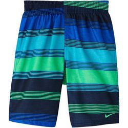 Nike Big Boys 6:1 Stripe Volley Swim Shorts