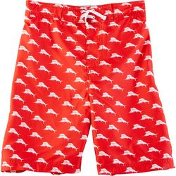 Tommy Bahama Big Boys Marlin Logo Swim Trunks