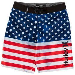 Hurley Big Boys Americana Boardshorts