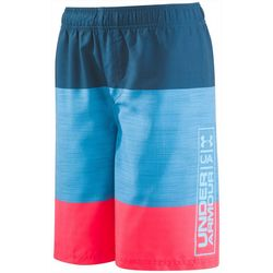 Under Armour Big Boys Colorblock Volley Swim Trunks