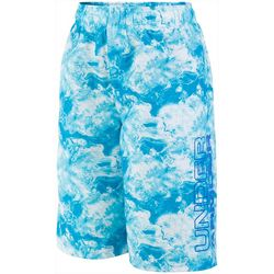 Under Armour Big Boys Tie Dye Volley Swim Trunks