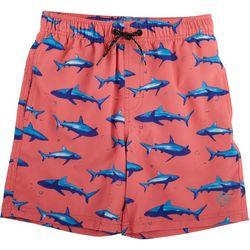 Ocean Current Big Boys Maui Shark Volley Swim Shorts