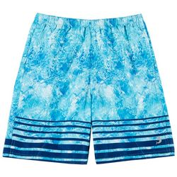 Reel Legends Little Boys Shatter Glass Swim Shorts